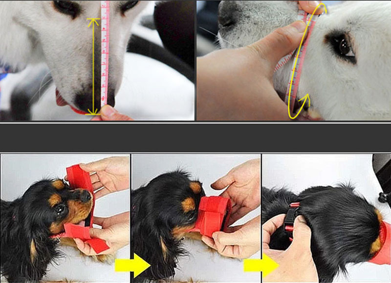 Puppy Mouth Mask Best Quality Stop Chewing Muzzle Safety Soft Adjustable Pet Dog