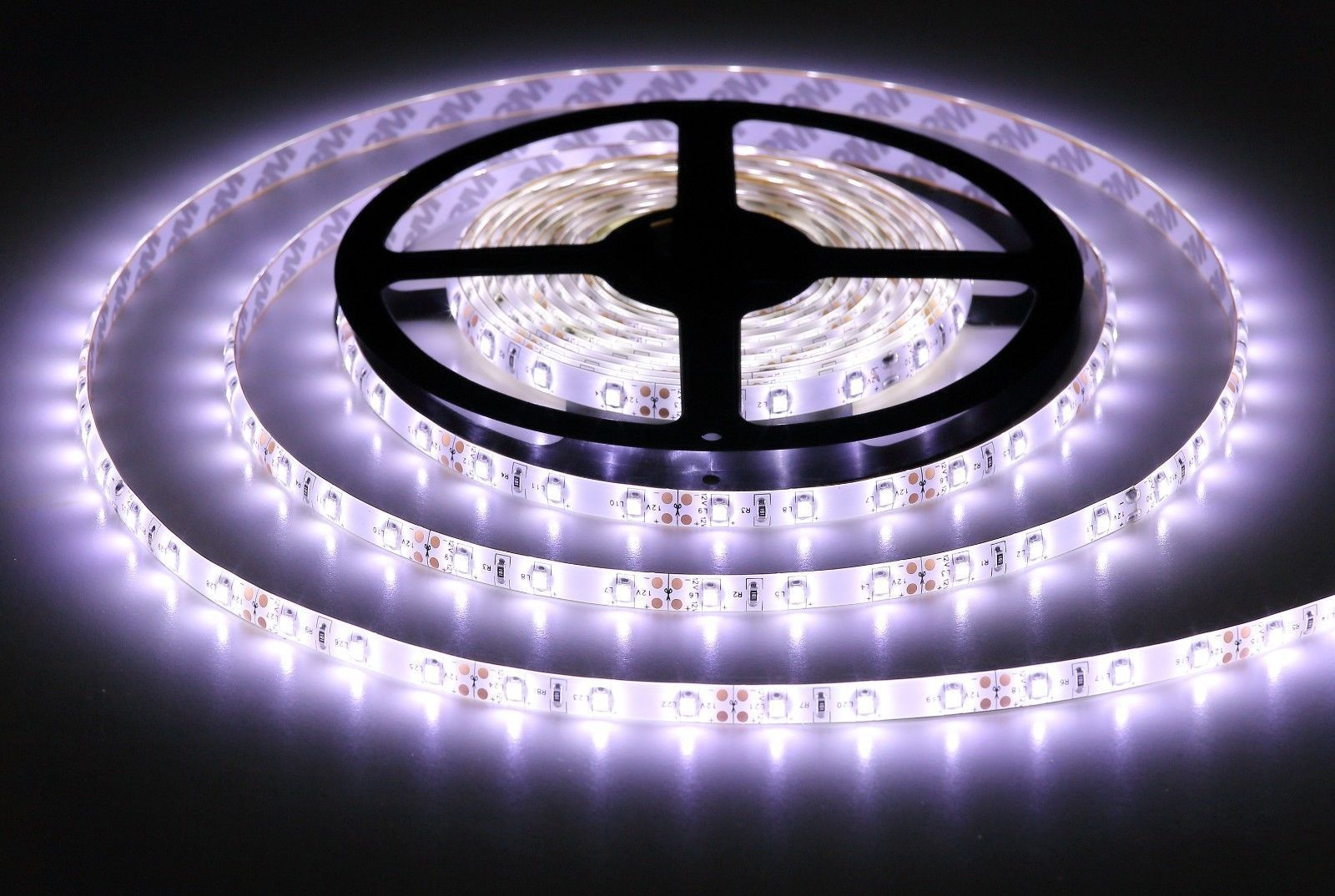 New Waterproof Flexible 12v Led Strip Lights 3528 Smd Cool