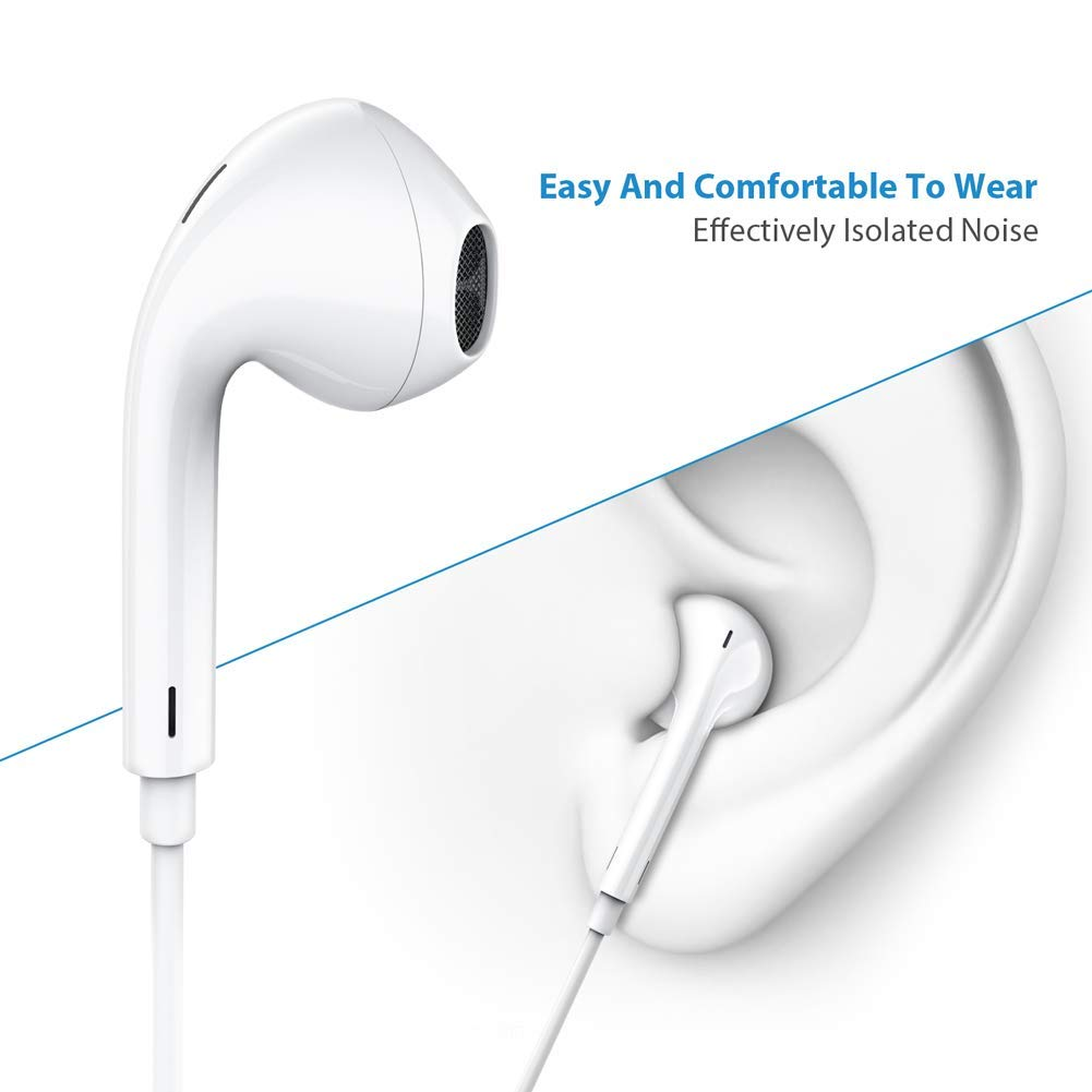 Earphones for jogging - apple earphones for iphone 6s