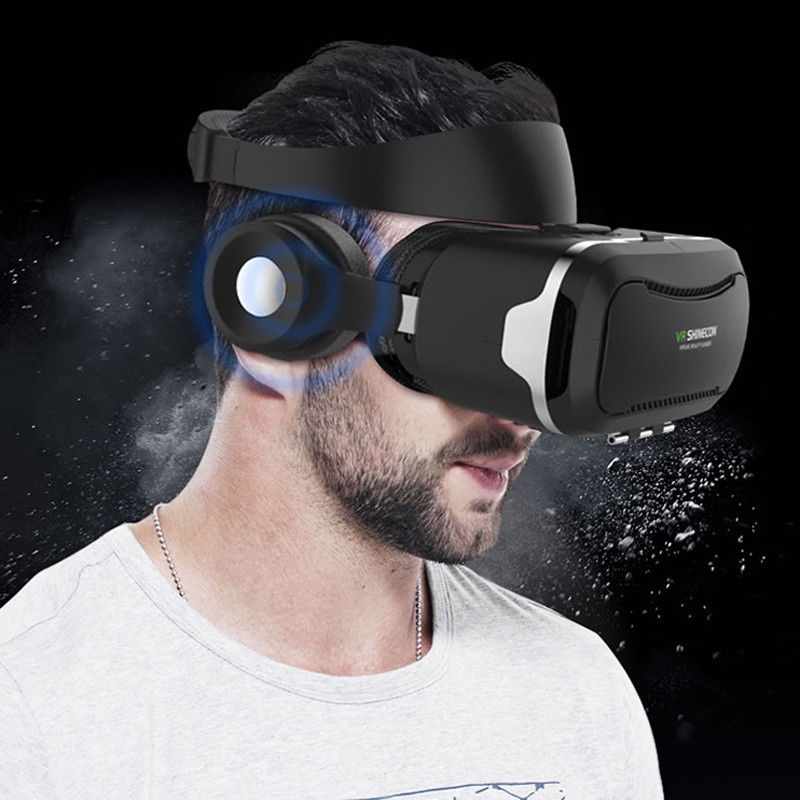 Virtual Reality Headset VR Glasses  for 3D Movies Video Games for iPhone 6 7 8